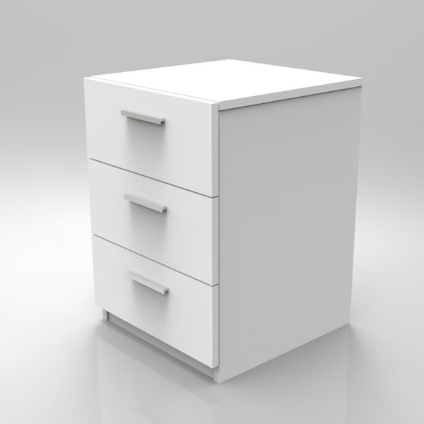Beyaz renk ofis keson