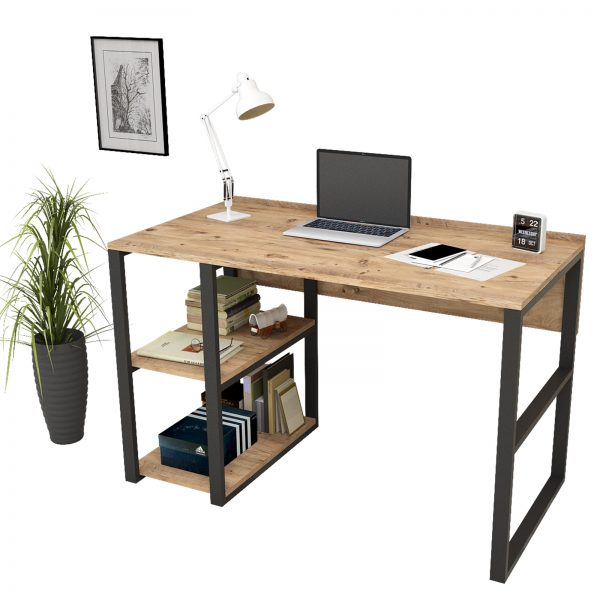 Yurudesign,demir çalışma masası,bilgisayar masası
